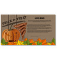 happy halloween festive background vector image