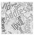 How To Find Your IP Address DNS Address IPv IPv vector image vector image