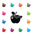 isolated organic icon healthy element can vector image vector image