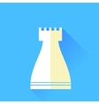 Rook Chess Icon vector image
