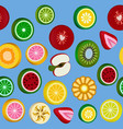 Seamless background with bright fruit candy