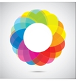 Abstract color figure vector image vector image