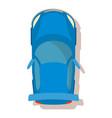blue car icon cartoon style vector image vector image