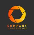 company corporation logo icon photography vector image