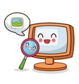 Kawaii cartoon Technology and Social media vector image vector image