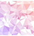 pink polygonal background vector image vector image