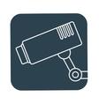 surveillance camera icon image vector image vector image