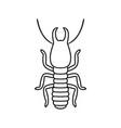termite vector image vector image