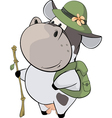 A small cow Cartoon vector image vector image