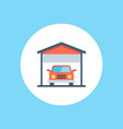 garage icon sign symbol vector image vector image