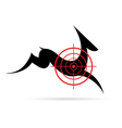 image a deer target vector image vector image