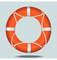 Lifebelt or lifebuoy vector image
