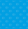 no sound mute pattern seamless blue vector image vector image