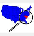 south carolina vector image vector image