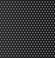 Steel honeycomb patterned dark background vector image