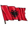Albania vector image vector image
