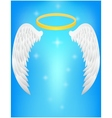 Angel wing vector image vector image