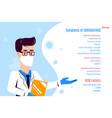 coronavirus 2019-ncov information banner flat vector image