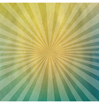 Pastel Cardboard Structure With Sunburst vector image