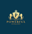 Powerful heraldry abstract sign symbol or
