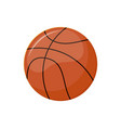 sports item basketball ball for match isolated vector image