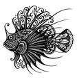 Abstract Sea Fish vector image vector image