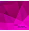 Abstract Violet Geometric Background vector image vector image
