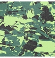 army camouflage background green vector image vector image