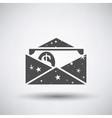 Gift Envelop Icon vector image vector image