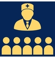 Medical Class Icon vector image