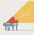 melody concept vector image