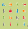 people and family vector image vector image
