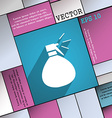 plastic spray of water icon symbol Flat modern web vector image