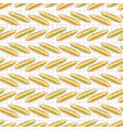 baguette set stripes seamless pattern hand vector image