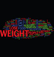 free tips on how to lose weight text background vector image vector image