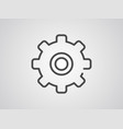 gear icon sign symbol vector image