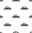 mini car seamless pattern vector image