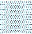 seamless repeating pattern blue rhombuses vector image