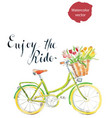 enjoy the ride vector image
