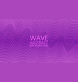 abstract colored background with waves ill vector image vector image