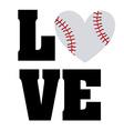baseball sport vector image vector image