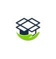 care box logo icon design vector image