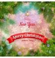 Christmas landscape Poster EPS 10