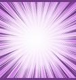 comic light purple bursting background vector image vector image
