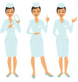 doctor character standing full figure vector image vector image