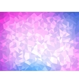 Polygonal Background for webdesign - Blue and pink vector image