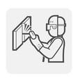Welder welding icon