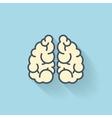 Flat web icon Brains vector image