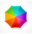 Umbrella Rainbow vector image