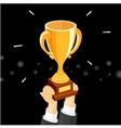 Cup winner vector image vector image
